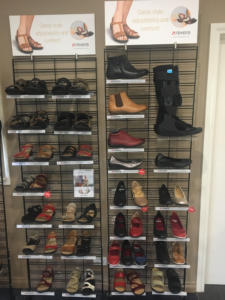 Range of Revere footwear available at Watsonia Podiatry